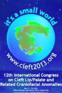 12th International Congress on Cleft lip palade and related craniofacial anomalies