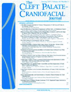 The Cleft Palate-Craniofacial Journal