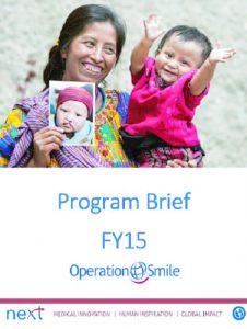 Program Brief FY15 - Operation Smile