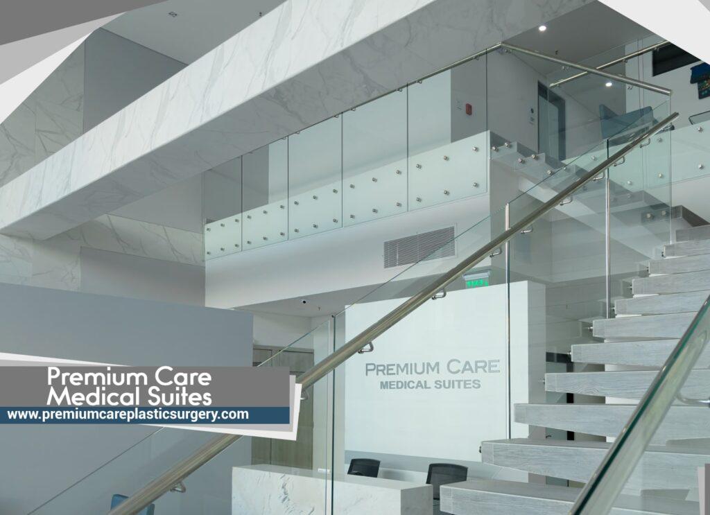 Premium care medical suites